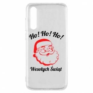 Etui na Huawei P20 Pro Ho Ho Ho Święty Mikołaj