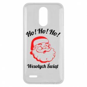 Etui na Lg K10 2017 Ho Ho Ho Święty Mikołaj
