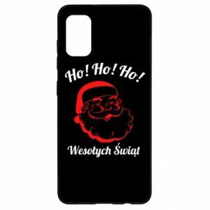 Etui na Samsung A41 Ho Ho Ho Święty Mikołaj