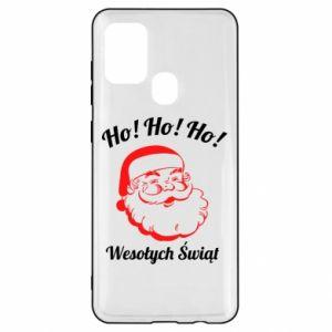 Etui na Samsung A21s Ho Ho Ho Święty Mikołaj