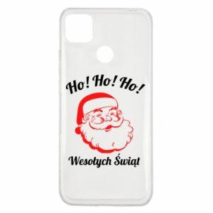 Etui na Xiaomi Redmi 9c Ho Ho Ho Święty Mikołaj