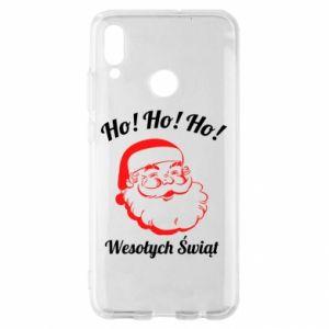 Etui na Huawei P Smart 2019 Ho Ho Ho Święty Mikołaj