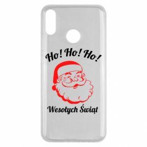 Etui na Huawei Y9 2019 Ho Ho Ho Święty Mikołaj