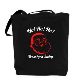 Bag Ho Ho Ho Santa Claus
