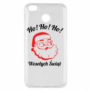 Etui na Xiaomi Redmi 4X Ho Ho Ho Święty Mikołaj
