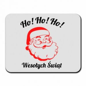 Podkładka pod mysz Ho Ho Ho Święty Mikołaj