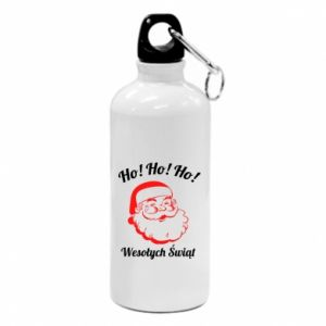 Bidon turystyczny Ho Ho Ho Święty Mikołaj