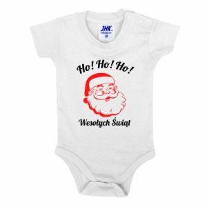 Body dziecięce Ho Ho Ho Święty Mikołaj