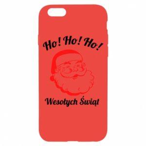 Etui na iPhone 6/6S Ho Ho Ho Święty Mikołaj