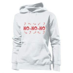 Women's hoodies ХО-ХО-ХО