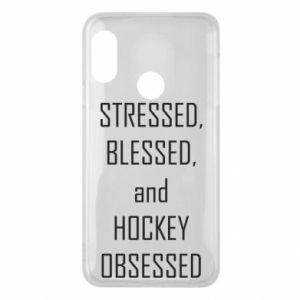 Mi A2 Lite Case Hockey