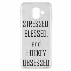 Etui na Samsung A6 2018 Hokej