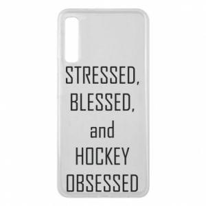 Etui na Samsung A7 2018 Hokej
