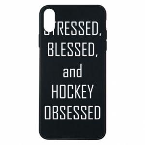 Etui na iPhone Xs Max Hokej