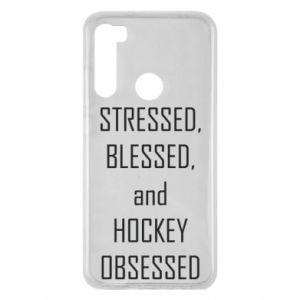 Xiaomi Redmi Note 8 Case Hockey