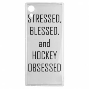 Sony Xperia XA1 Case Hockey