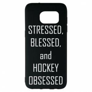 Samsung S7 EDGE Case Hockey