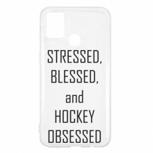 Samsung M31 Case Hockey