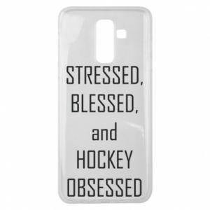 Samsung J8 2018 Case Hockey