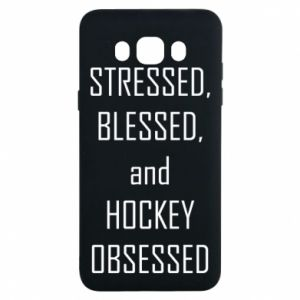 Samsung J7 2016 Case Hockey
