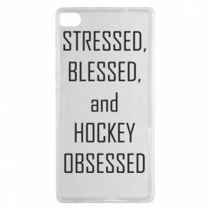 Huawei P8 Case Hockey