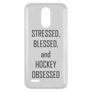 Lg K10 2017 Case Hockey