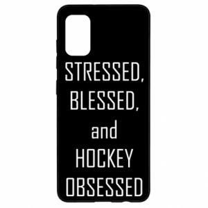 Samsung A41 Case Hockey