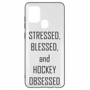 Samsung A21s Case Hockey