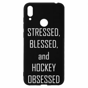 Huawei Y7 2019 Case Hockey