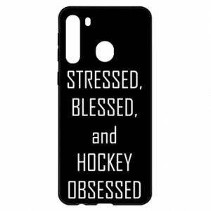Samsung A21 Case Hockey