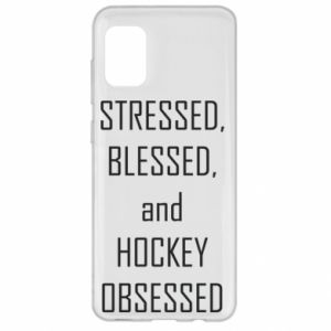 Samsung A31 Case Hockey