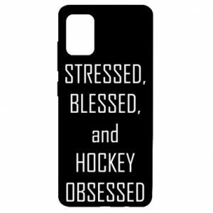 Samsung A51 Case Hockey