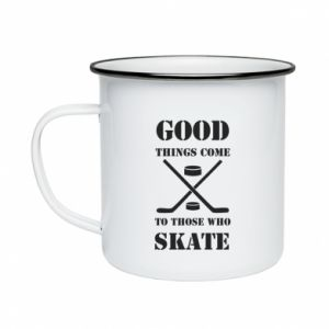 Enameled mug Good skate