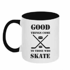 Kubek dwukolorowy Good skate - PrintSalon