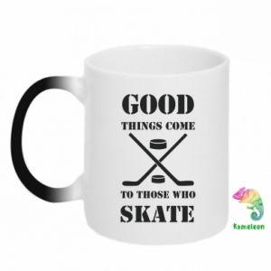 Kubek-kameleon Good skate - PrintSalon