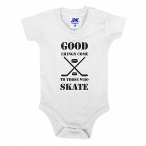 Baby bodysuit Good skate