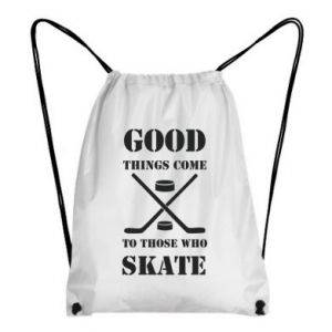 Plecak-worek Good skate - PrintSalon