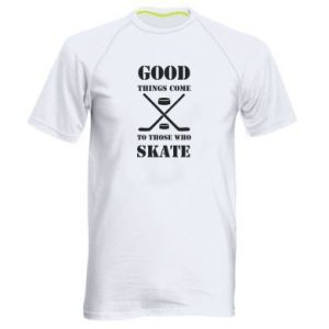 Męska koszulka sportowa Good skate - PrintSalon