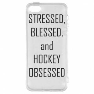 Etui na iPhone 5/5S/SE Hokej