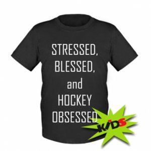 Dziecięcy T-shirt Hokej