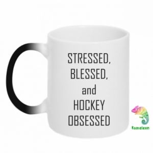 Kubek-kameleon Hokej