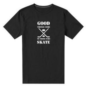 Męska premium koszulka Good skate - PrintSalon
