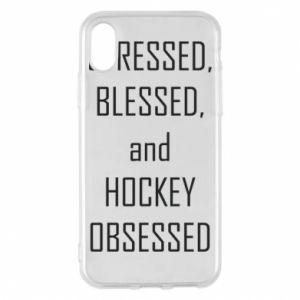 Etui na iPhone X/Xs Hokej