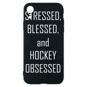 Etui na iPhone XR Hokej