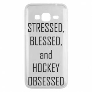 Samsung J3 2016 Case Hockey
