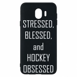 Etui na Samsung J4 Hokej