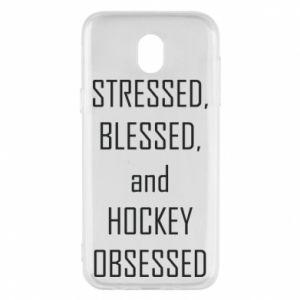 Etui na Samsung J5 2017 Hokej