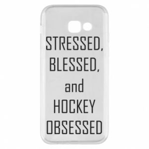 Etui na Samsung A5 2017 Hokej