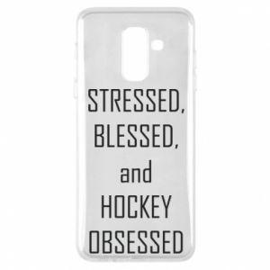 Etui na Samsung A6+ 2018 Hokej