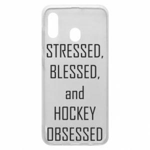Samsung A30 Case Hockey